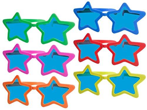 Lunettes-toiles-Gantes-F-050-humoristique-rigolo-26x16x9-cm-Pour-amuser-petits-et-grands-pour-complter-votre-dguisement-de-clown-ou-pour-amuser-vos-amis-Les-lunettes-sont-en-plastique
