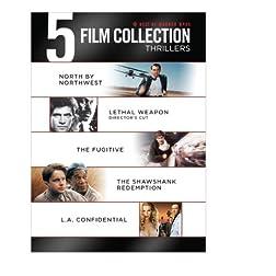 Best of Warner Bro's 5 Film Collection Thrillers