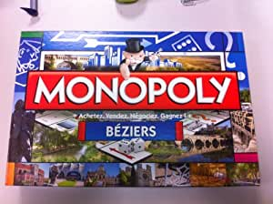Winning Moves - 0071 - Jeu De Société - Monopoly - Béziers