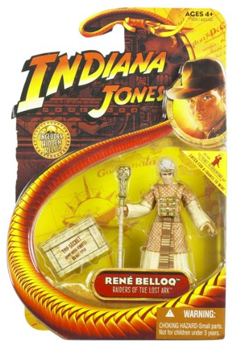 Indiana Jones Movie Hasbro Series 1 Action Figure Rene Belloq [Raiders of the Lost Ark]