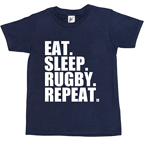 eat-sleep-rugby-repeat-kids-boys-girls-t-shirt-size-5-6-year-old-colour-navy-blue-rugby-world-cup