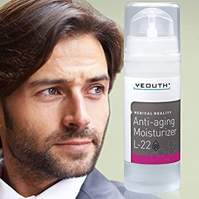 Best Cheap Deal for Men's Best Anti-aging Moisturizer With New Patented L22 From YEOUTH by YEOUTH - Free 2 Day Shipping Available