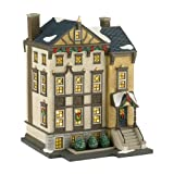 Department 56 Christmas in The City Village 7400 Beacon Hill Lit House, 7.64-Inch