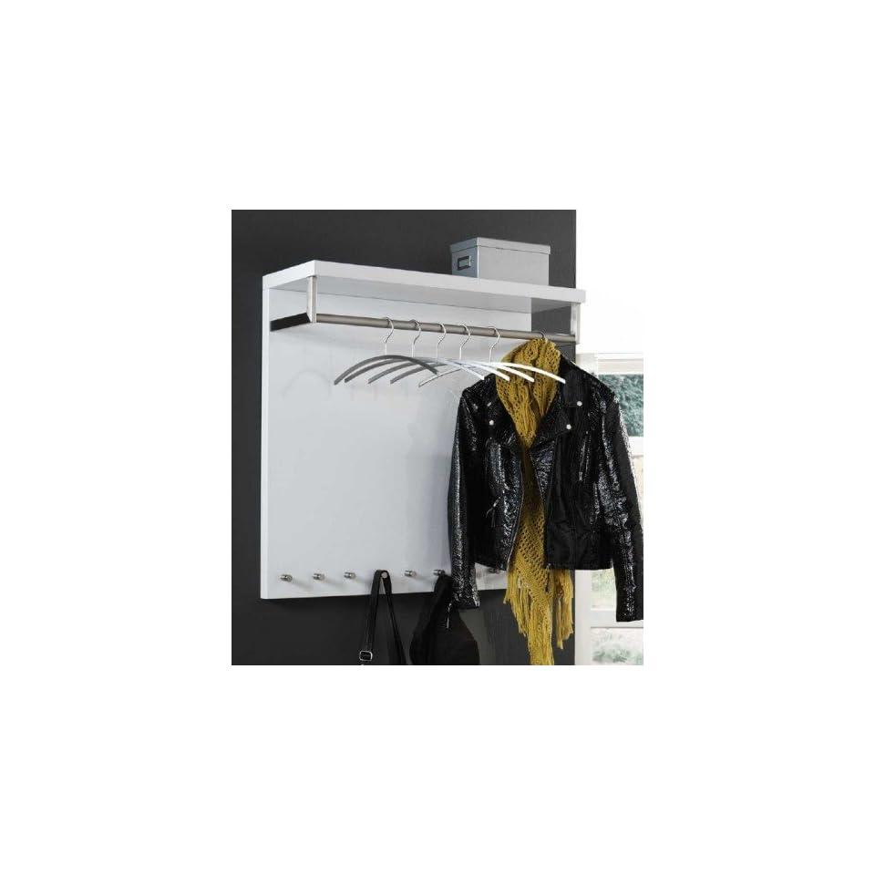 design wandgarderobe 90 x 90 cm garderobe mit hutablage. Black Bedroom Furniture Sets. Home Design Ideas