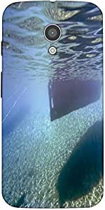 Snoogg Underwater Designer Protective Back Case Cover For Motorola X / Moto X