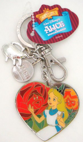 Disney Alice in Wonderland Dangle Keyring