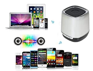 Amtonseeshop Latest Popular Hot Sales Bluetooth Hifi Mini Speaker-phone Handsfree for Iphone Ipad Nexus(model 2) by amtonseeshop