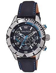Nautica Sports Chronograph Black Dial Men's Watch - NAI20503G