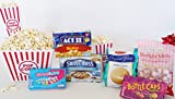 Popcorn and Candy Night: Great Pick-Me-Up, Birthday, Easter, or Thinking of You Gift Basket