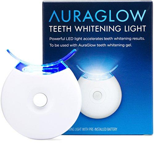 5x blue led light teeth whitening accelerator light by auraglow. Black Bedroom Furniture Sets. Home Design Ideas