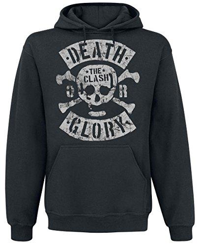 The Clash Death Or Glory Felpa con cappuccio nero M