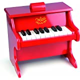 Vilac Baby Musical Toy Child Sized Piano, Red