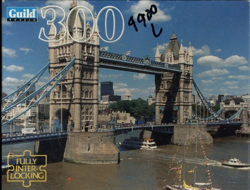 Guild 300 Piece Puzzle Tower Bridge, London - Puzzle Is Dated 1995
