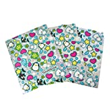 Happy Plaid 3 Pack Folder Set