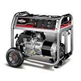 51hXO4oDk6L. SL160  Briggs & Stratton 30467 5,000 Watt 342cc Gas Powered Portable Generator With Wheel Kit