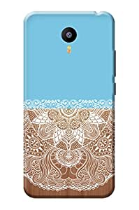 Meizu m3 Note Back Case KanvasCases Premium Designer 3D Lightweight Hard Cover