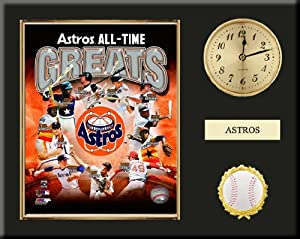 Houston Astros All Time Greats Team Composite Photo Inserted In A Gold Slide In Frame... by Art and More, Davenport, IA