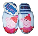 Boys slippers mules peppa pig & george pig