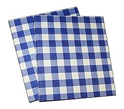 3 Ring 1 inch Binder- Daily Planner, Organizer - Gingham Fabric Design -Set of 2