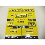 2 X 45 X Clipper Lighter Flints, Will Work In ALL Flint Lighters Including Zippo Lighters