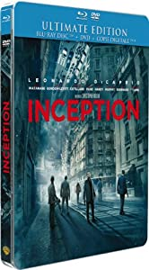 Inception [Ultimate Edition boîtier SteelBook - Combo Blu-ray + DVD]