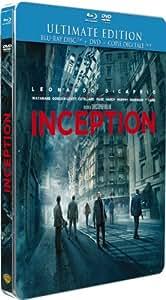 Inception [Ultimate Edition boîtier SteelBook - Combo Blu-ray + DVD]