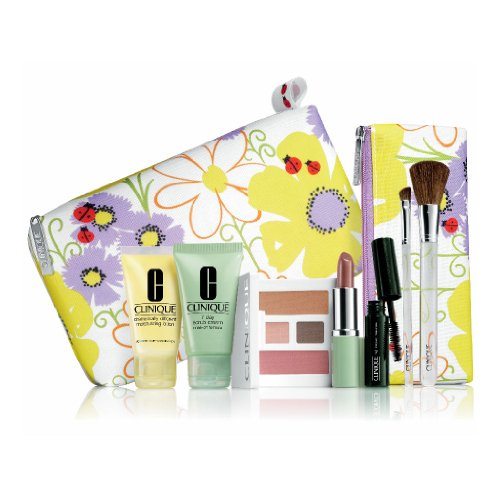 Brand New Clinique 2013 Spring 9 pcs Beauty Essentials