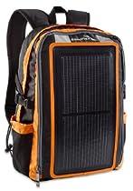 EnerPlex ORANGE Packr USB Solar Charging Backpack Flexable 3 Watt Solar Panel