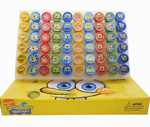 Spongebob Stampers Party Favors (20 Stampers)