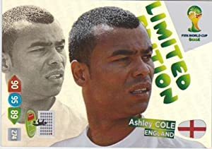 FIFA World Cup 2014 Brazil Adrenalyn XL Ashley Cole Limited Edition
