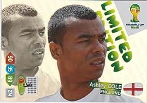 FIFA World Cup 2014 Brazil Adrenalyn XL Ashley Cole Limited Edition
