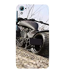 PrintVisa Exotic Bike Design 3D Hard Polycarbonate Designer Back Case Cover for HTC Desire 826
