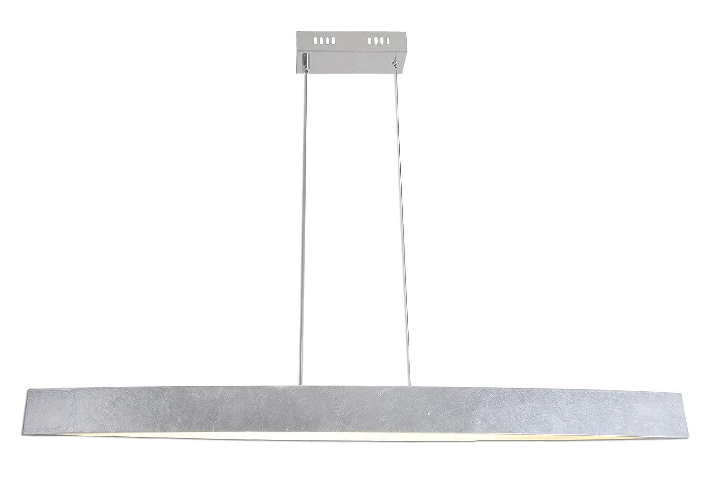 Naeve Leuchten A Pendelleuchte Metall 18 W silber 7049559
