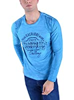 Galvanni Camiseta Manga Larga Soul (Azul)