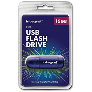 Integral EVO Lecteur flash USB 16 Go USB 2.0