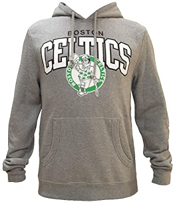 Mitchell And Ness Team Arch Hoody Sweatshirt Pullover Boston Celtics Herren Mens by Mitchell & Ness