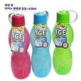 Lock&Lock Ice Fun And Fun Fridge Bottle Set, Set Of 3, 620ml, Green/Blue/Pink