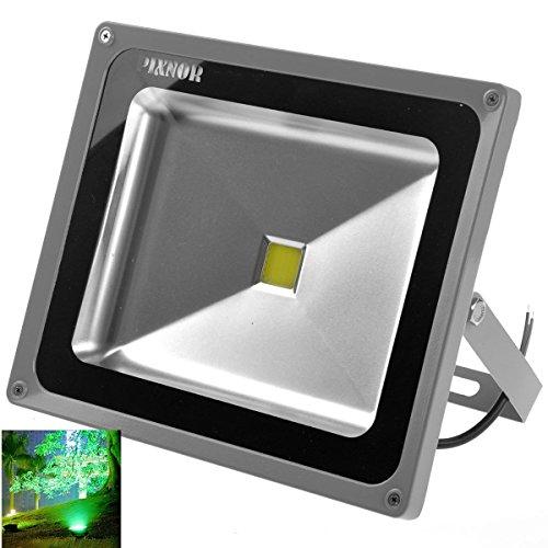 Pixnor 50W Ac85V-265V 4000-4500Lm Outdoor Waterproof Led Spotlight Flood Light Lamp (White Light)