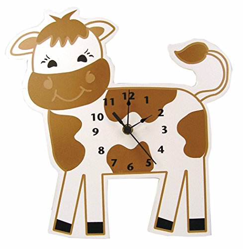 Trend Lab Baby Barnyard Wall Clock, Cow - 1