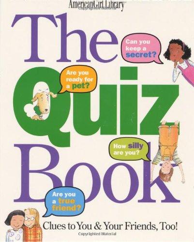 The Quiz Book (American Girl Library), Allen, Laura