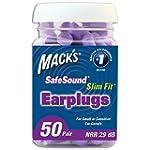 Mack's Ear Care Slim Fit Soft Foam Ea...
