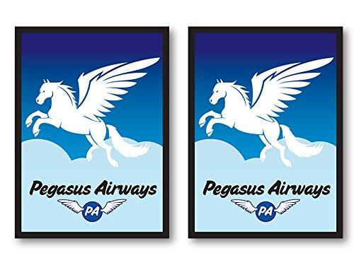 PEGASUS AIRWAYS 100 Sleeves Legion Supplies for MTG Magic the Gathering POKEMON