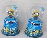 (2) Minions Bubble Bath Glitter Globes