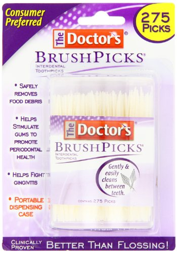 Doctor's Brushpicks, 275 Count (Pack of 4)