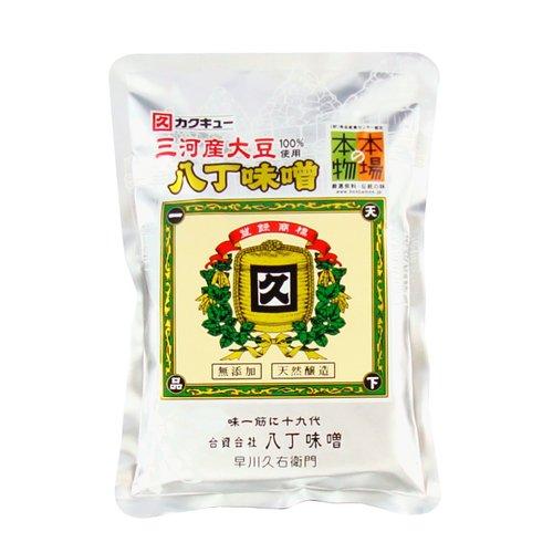 カクキュー 三河産大豆八丁味噌銀袋 400g