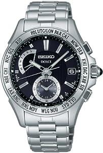 SEIKO DOLCE (SADA013) World Time Solar radio model Titanium Watch