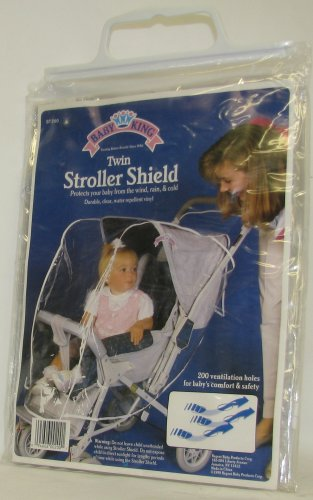 Twin Stroller Shield - 1