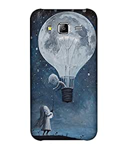small candy 3D Printed Back Cover For Samsung Galaxy On5 -Multicolor illustration