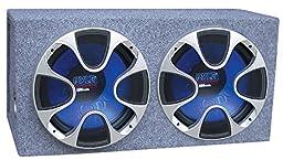 Pyle PLBS102 Blue Wave Series Dual 10-Inch 800-Watt Bandpass System