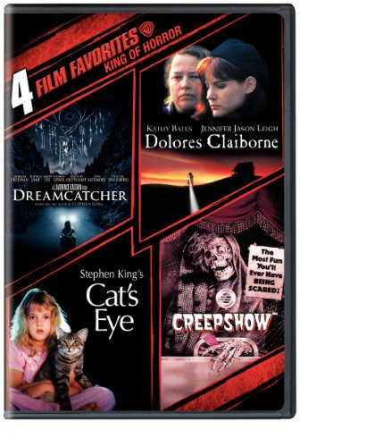 Stephen King: 4 Film Favorites (Dreamcatcher/Dolores Claiborne/Cat's Eye/Creepshow)